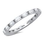 Silver CZ Ring - $5.2
