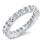 Silver CZ Ring - $7.8