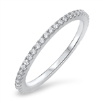 Silver CZ Ring - $5.85
