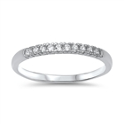 Silver CZ Ring - $3.7
