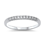Silver CZ Ring - $3.36