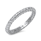 Silver CZ Ring - $4.66
