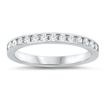 Silver Eternity Ring - $5.48