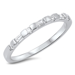 Silver CZ Ring - $4.69