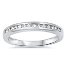 Silver CZ Ring - $7.17