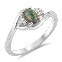 Silver CZ Ring - $4.64