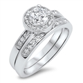 Silver CZ Ring - $11.9