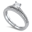 Silver CZ Ring - $8.68