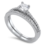 Silver CZ Ring - $7.89