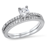 Silver CZ Ring - $8.45