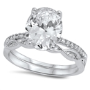 Silver CZ Ring - $9.87