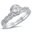 Silver CZ Ring - $10.9