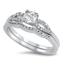 Silver CZ Ring - $10.29