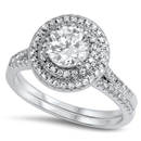 Silver CZ Ring - $12.62