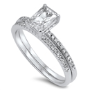 Silver CZ Ring - $11.11