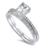 Silver CZ Ring - $10.10