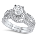 Silver CZ Ring - $12.06