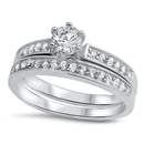 Silver CZ Ring - $9.25