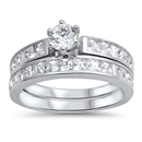 Silver CZ Ring - $10.25