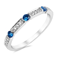 Silver CZ Ring - $5.10