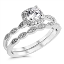 Silver CZ Ring - $11.09