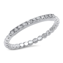 Silver CZ Ring - $4.18