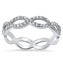 Silver CZ Ring - $7.58