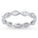 Silver CZ Ring - $4.68