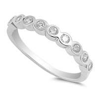 Silver CZ Ring - $4.14