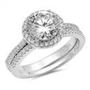 Silver CZ Ring - $9.89