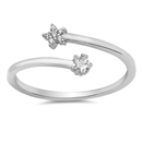 Silver CZ Ring - $2.97