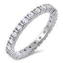 Silver CZ Ring - $6.57