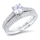 Silver CZ Ring - $13.99