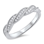 Silver CZ Ring - $5.67