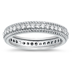 Silver CZ Ring - $6.94