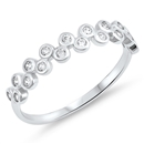 Silver CZ Ring - $4.09