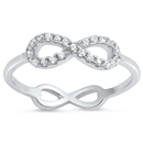 Silver CZ Ring - Infinity - $5.04