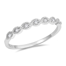 Silver CZ Ring - $3.55