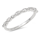 Silver CZ Ring - $3.77