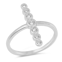 Silver CZ Ring - $3.88