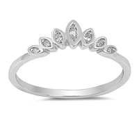 Silver CZ Ring - $3.27