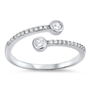 Silver CZ Ring - $4.31