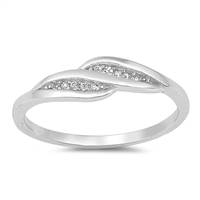 Silver CZ Ring - $3.61