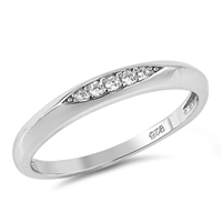 Silver CZ Ring - $3.64