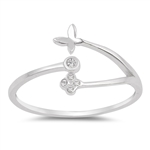 Silver CZ Ring - $3.06