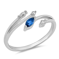 Silver CZ Ring - $3.87