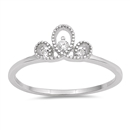 Silver CZ Ring - $2.99