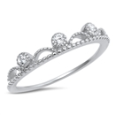 Silver CZ Ring - $3.12