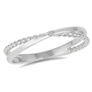 Silver CZ Ring - $3.38