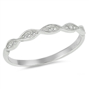 Silver CZ Ring - $3.32
